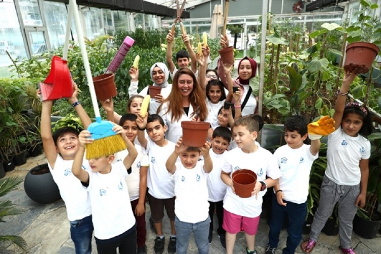 Bağcılar'da Çocuklar Organik Tarımla Büyüyor