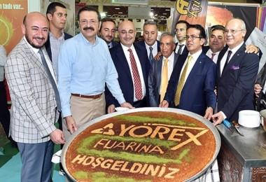 """Hisarcıklıoğlu: """"Yörex Türkiye'nin Markası"""""""