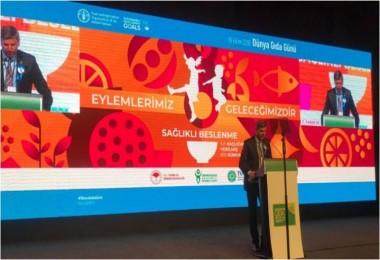 Dünya Gıda Günü Buluşması Bugün İstanbul'da Gerçekleşti