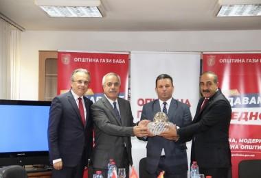 Egeli Yaş Meyve Sebze İhracatçılarına Kuzey Makedonya'da VİP İlgi