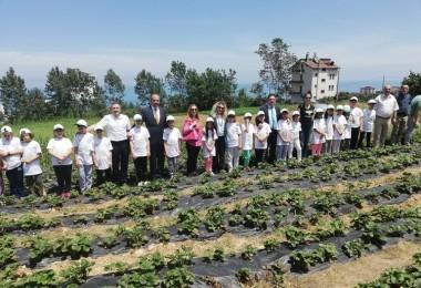 Trabzon'da 'Lider Çocuk Tarım Kampı' Mutlu Bitti