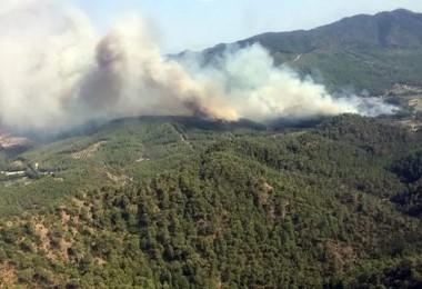 Dalaman Yangınına 13 Dakikada Müdahale Edildi