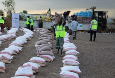 TİKA'dan Cibuti'ye 45 Ton Gıda Yardımı