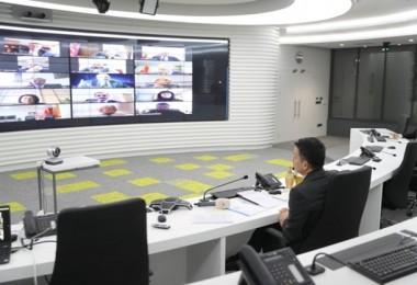 Bakan Pakdemirli, Koordinasyon Toplantısını Telekonferans Yöntemi İle Yaptı