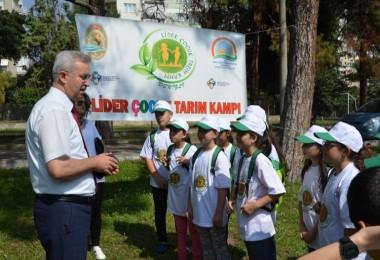 Denizli'de 5.Lider Çocuk Tarım Kampı Başladı