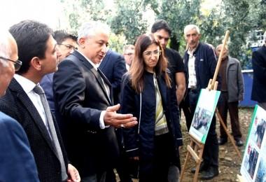 Yalova'da Hibe Alan Tarımsal Projeler İncelendi