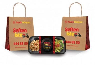 Tavuk Dünyası, uzun zamandır sabırsızlıkla beklenen paket servis hizmetini 'Şeften İste' ile başlattı.