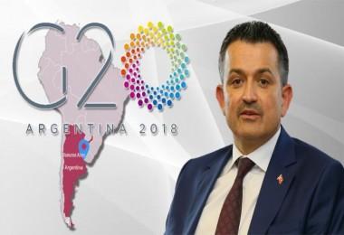 Bakan Pakdemirli, G20 Tarım Bakanları Toplantısına katılacak