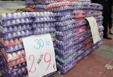 Yumurta krizi çözülemiyor