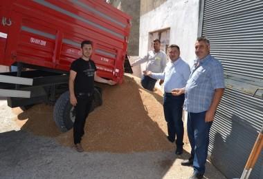 Uzunköprü'de Sezonun İlk Buğdayı 1.1 TL'den Alındı