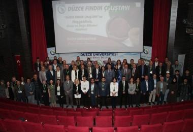 Düzce'de Fındık Çalıştayı Gerçekleştirildi