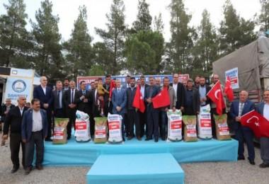 Şahinbey Belediyesi'nden Çiftçilere 6.000 Ton Tohum Desteği