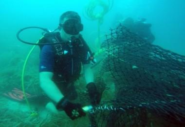 Bakan Pakdemirli Denizlerdeki Kirliliğe Dikkat Çekmek İçin Dalış Yaptı