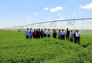 Üreticilere Tarımda Su Kullanımının Önemi Anlatıldı