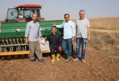 Yozgat'ta Yulaf Çeşit Deneme Ekimi Yapıldı