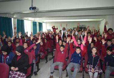 Bayburt'ta Öğrencilere Gıda Güvenilirliği, Gıda Kayıpları Ve İsrafı Eğitimi Verildi