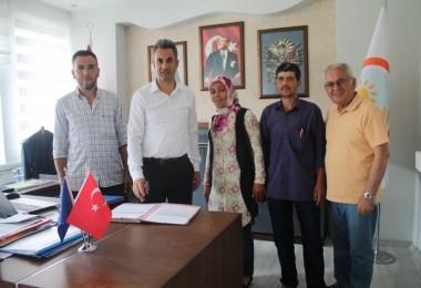 2018 Yılı Genç Çiftçi Hibe Sözleşmeleri İmzalandı