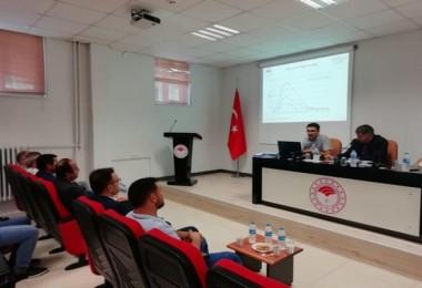 Giresun'da Manda Islah Projesi Yürütme Kurulu Toplantısı Yapıldı