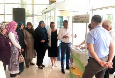 Antalya' da Tarımın Öncüleri Bilgilendirme Noktasında