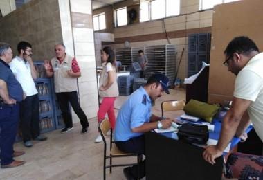Nevşehir'de Ekmek Ve Pide Üretimi Yapan İşletmeler Denetlendi