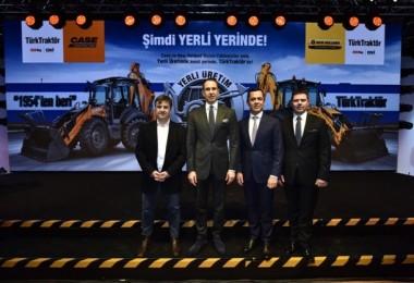 TürkTraktör Ankara'daki Fabrikasında İş Makinesi Üretimine Başlıyor