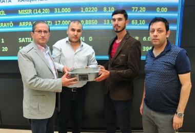 İlk Mahsul Arpa Borsada Rekor Fiyatla Satıldı