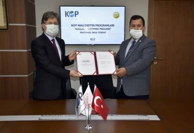 KOP ve Konya Orman Bölge Müdürlüğü İş birliğiyle ''Rüzgâr Erozyonuyla Mücadelede Yenilikçi Proje Hayata Geçiyor''
