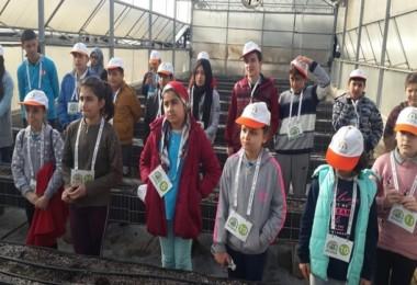 Antalya'da Çocuklar Toprakla Buluştu