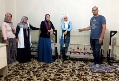 Kırsalı KOP'la Düz Dokuyoruz Projesi Hayata Geçirildi