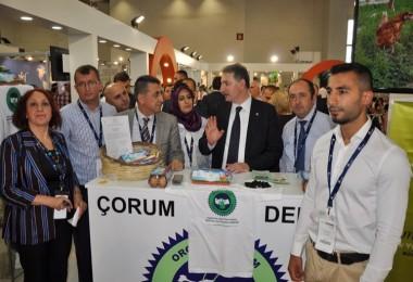 Denizli Tarım İl Müdürlüğü İzmir 9. Ekoloji Fuarına Katıldı