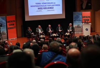 """Büyükşehir Belediyesi """"Yerel Yönetimler ve Kooperatifçilik Toplantısı"""" düzenledi"""