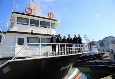 Giresun'da Balıkçı Gemilerinde Hijyen Denetimi Yapıldı
