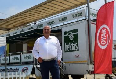 Hektaş'ın Akıllı Tarım Tır'ı Adana'da Çukurovalı Çiftçilerle Buluştu