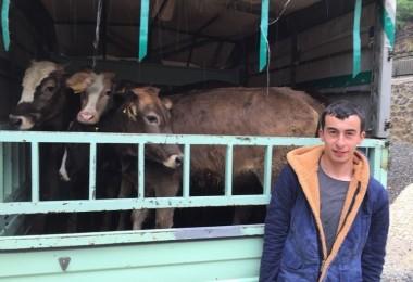 Genç Çiftçiler Üretmeye Devam Ediyor…