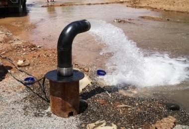 Honaz'da sulama suyuna sondaj desteği