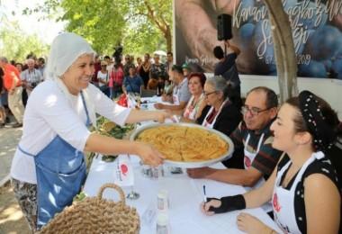 Köylü kadınların yemek sunumları profesyonellere taş çıkarttı