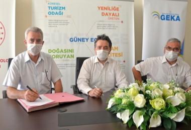 """GEKA ile """"Ruminantlarda Aşı Uygulamaları'' konulu ortak proje sözleşmesi imzalandı"""