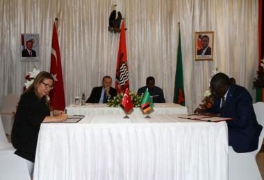 Türkiye Ve Zambiya Arasında Tarım, Balıkçılık Ve Hayvancılık Alanında Anlaşma İmzalandı