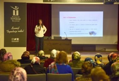 Tepebaşı Belediyesi Tarafından Üreteci Kadınlara Hijyen Ve Tarım Eğitimi Verildi