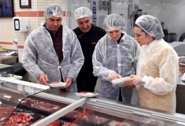 """Yalova'da Gıda İşletmelerine """"Korona"""" Denetimi"""
