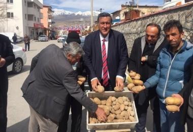 Gürer: Patates İthaline İzin Vermek Çiftçiye Aba Altından Sopa Göstermektir