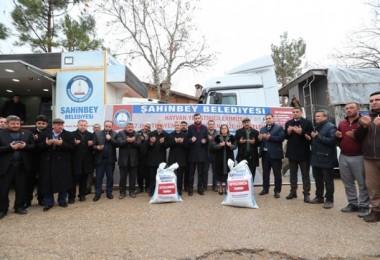 Şahinbey Belediyesinden Besicilere 7 Bin Ton Yem Desteği