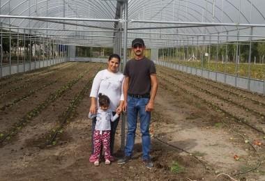 Genç Çiftçiler Seralarına Kavuştu