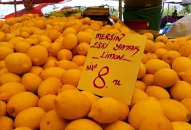 Limon, fiyatıyla yüzleri ekşitiyor