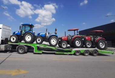 TürkTraktör ilk yerli üretim 'TIER 5' emisyon motorlara sahip traktörlerin ihracatına başladı