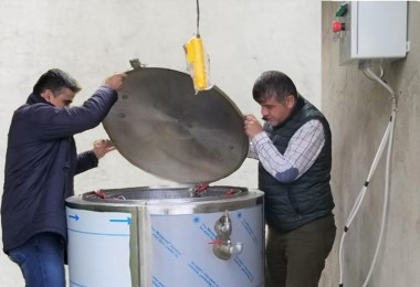 Adaköy Köyünde Küçük Ölçekli Kompost Üretim Tesisi Kuruldu
