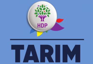 HDP'ten Türkçe ve Kürtçe Tarım Sempozyumu Kitabı
