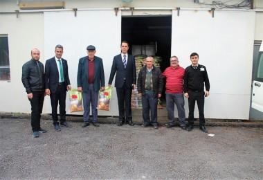 Üreticilere Yüzde 40 Hibeli Yonca Tohumu Dağıtıldı