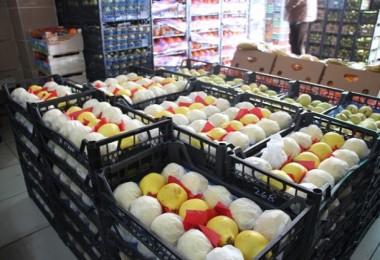 İstanbul'a Gelen Meyve Ve Sebze Tonajı Azaldı
