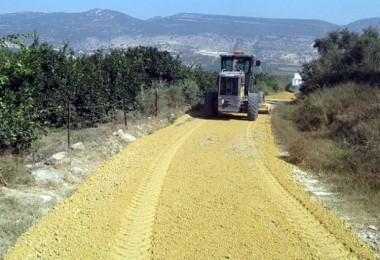 Akdeniz'de Tarım Yolları Açılıyor, Üreticilerin Ulaşımı Kolaylaşıyor